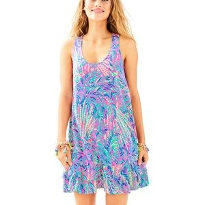 NWT Evangelia dress pink sunset